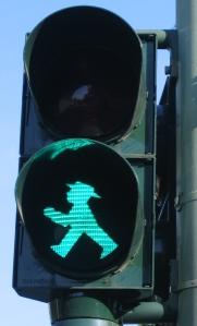 semáforo en berlín