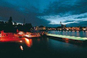 Badeschiff en Berlin